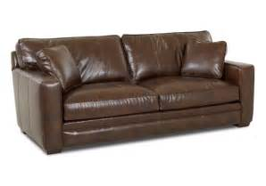 comfortable leather sleeper sofa design with contemporary