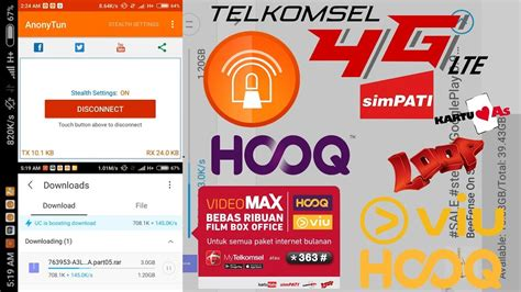 settingan unlimited pro youthmax terbaru cara menggunakan kuota video max telkomsel all aplikasi