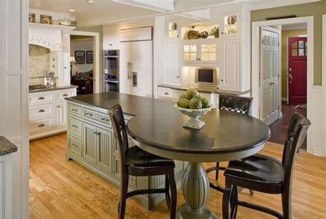 kitchen island table design ideas 37 multifunctional kitchen islands with seating