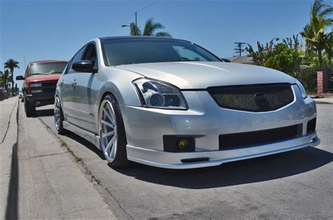 stanced 2007 nissan maxima hero782 2007 nissan maximasl sedan 4d specs photos
