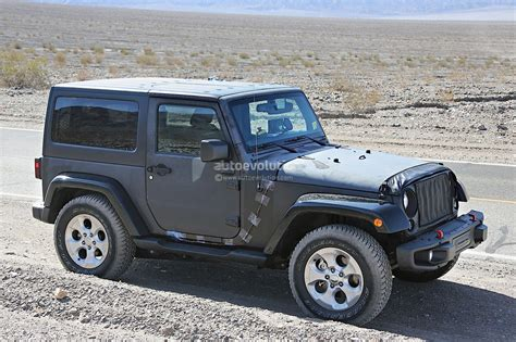 New Jeep For 2018 by New 2018 Jeep Wrangler Spied Testing In The Desert Will