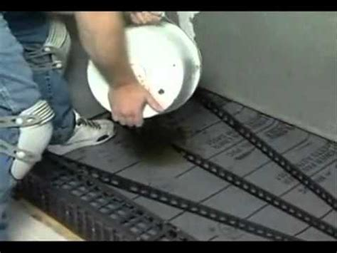How To Shower Fast by Build Shower With Pitch And Vinyl