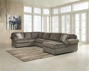 Upholstery Essex Jessa Place Dune 3 Pc Chaise Sectional Price Busters