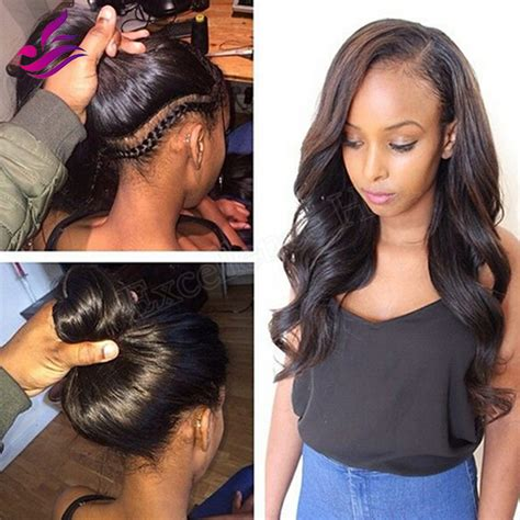side parting weavon styles pictures pics for gt wavy weave hairstyles with side part