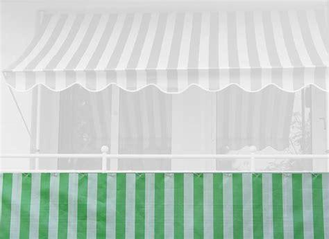 markisen paradies gutschein balkonbespannung 90 cm design gr 252 n wei 223