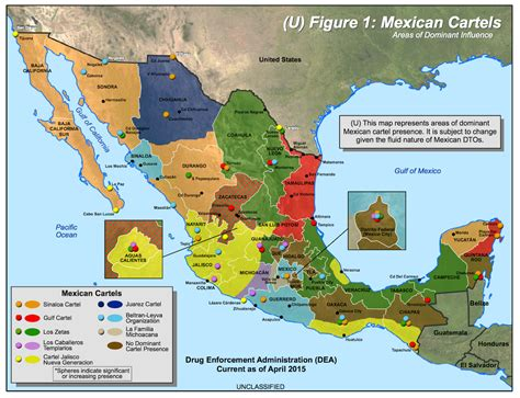 visualizing mexico s drug cartels a roundup of maps