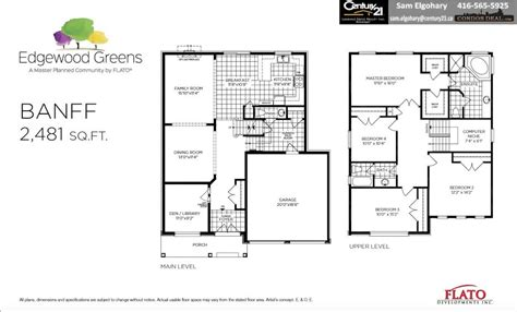 greenpark homes floor plans waterdown
