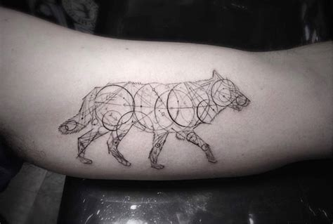 geometric tattoo woo stunning geometric line tattoos by dr woo