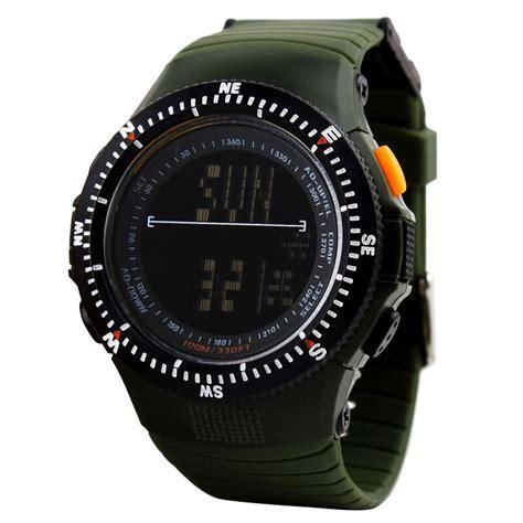 skmei jam tangan olahraga pria dg0989 green jakartanotebook