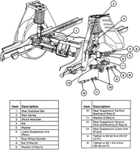 chevrolet truck astro van wd  tbi ohv cyl repair guides front suspension strut