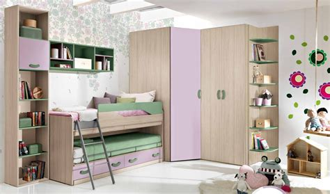 armadi componibili ad angolo cameretta componibile con armadio ad angolo e letto a