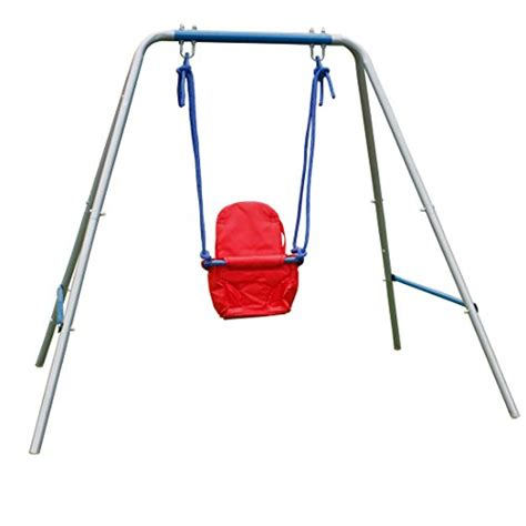 outdoor baby swing with frame swing sets for toddlers home garden life