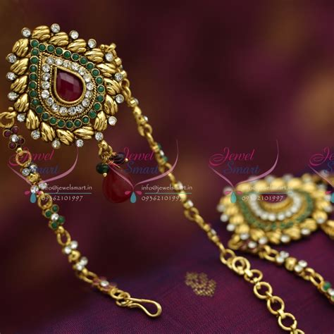 Handmade Bajuband v6205 antique low price traditional vanki baju band artificial jewellery
