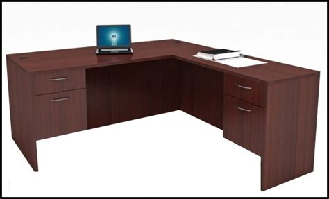 L Desks by New Cherryman L Desk Eastern Office Furniture