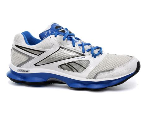 new reebok shoes new reebok runtone motive mens white blue running shoes j81655