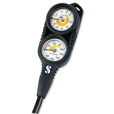 Scubapro Compact Console scubapro 2er konsole compact mit finimeter und