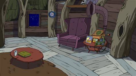 Finn And Jake S Living Room Imagen Adventuretimelivingroomnigh Jpg Wiki Hora De