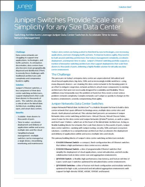 design brief software network design and architecture center data center