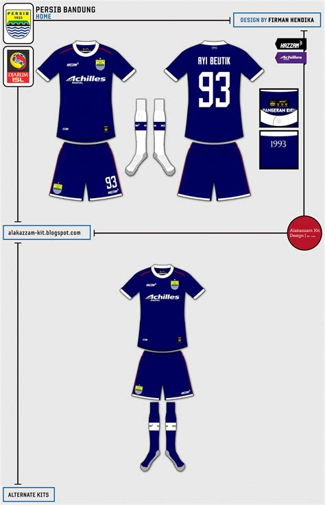 design baju viking persib persib bandung fantasy home kit kazzam tribute ayi