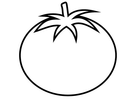 best photos of printable tomato coloring page tomato