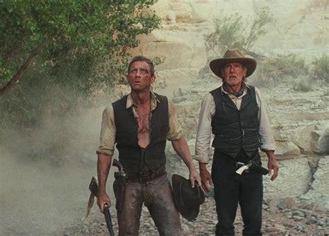 cowboy film daniel craig james bond to cowboy daniel craig fights aliens in sci fi
