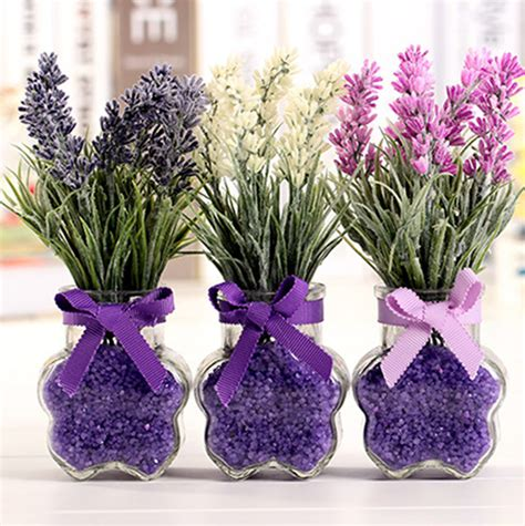 Lavender Wedding Centerpieces