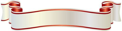 ribbon png ribbons and gold on pinterest white and red banner png clipart picture cvetia