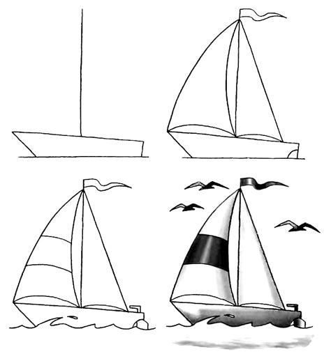 tiny boat drawing how to draw a boat step by step 12 great ways how to