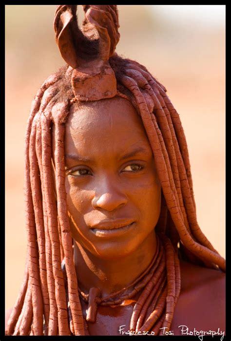 african himba tribe woman africa himba woman epupa falls namibia 169 francesco