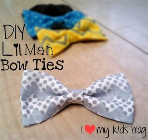 diy baby bow tie no lil bow ties diy no sew 40 cents a i my