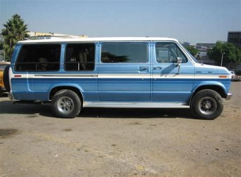 how to work on cars 1986 ford e series auto manual 1986 ford econoline van super e350 rental epicturecars