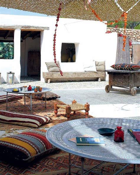 55 charming morocco style patio designs digsdigs