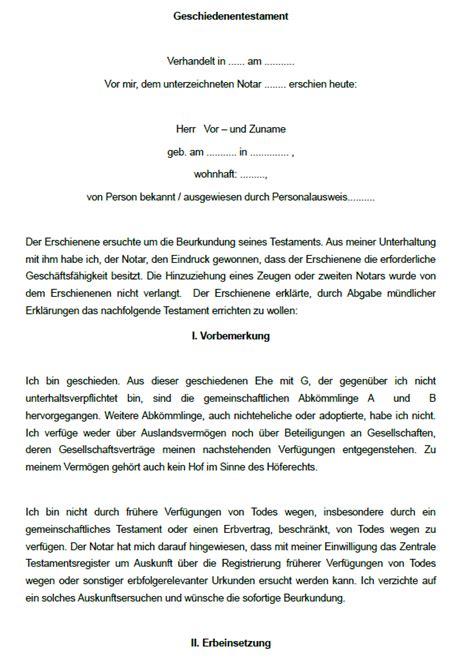 Vorlage Kündigung Versicherung Berlin Direkt 16 Testamente Im Sparpaket Sofort Zum