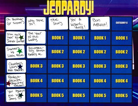 jeopardy summer reading program for