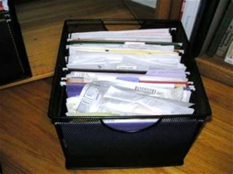 Common Filing Mistakes   Neat & Simple Living