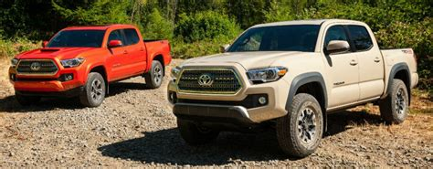 Toyota Tacoma Colors What Are The Color Options For The 2016 Toyota Tacoma