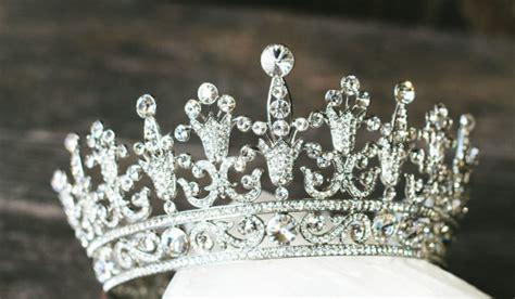 wedding tiaras and crowns full bridal crown swarovski crystal wedding crown portia