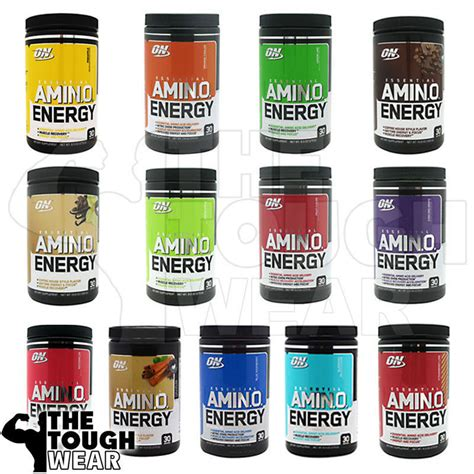 How To Search For On Amino Optimum Nutrition Essential On Amino Energy 30serv 13 Flavors To Choose Ebay