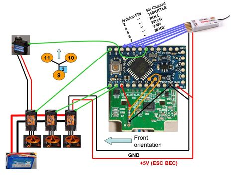 tricopter wiring diagram get free image about wiring diagram