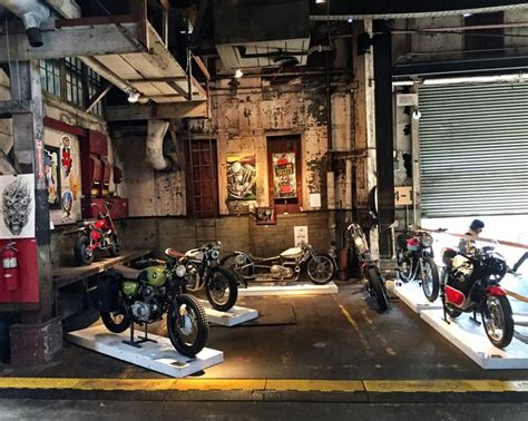 Garage Motorrad by Theone Motorcycle Show Motorcycle Garage Pinterest