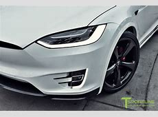Custom Tesla Model X With Bentley Red Interior Selling For ... Fosgate Signature