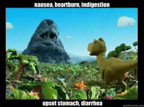 Heartburn Meme - nausea heartburn indigestion upset stomach diarrhea