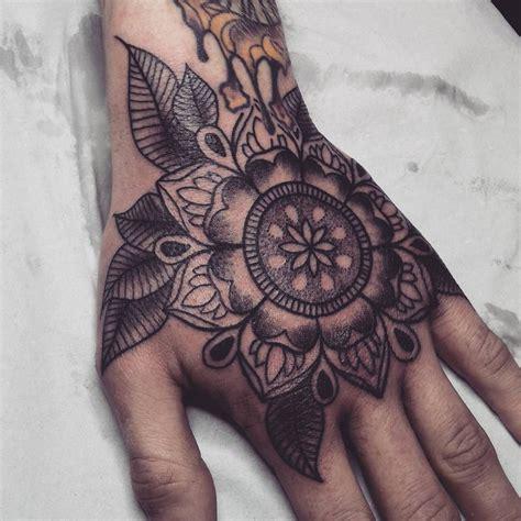 mandala hand tattoo mandala by alex m krofchak at the tattooed