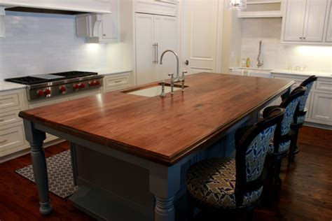 Kitchen Island Tops Wooden Kitchen Island Top Traditional Kitchen Other