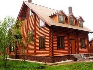 дома деревянные образцы покраски