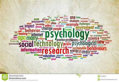 psychology design vintage stock image image 34509071