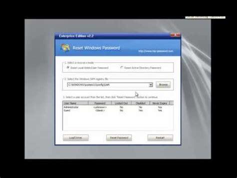 reset password windows xp youtube reset windows password youtube