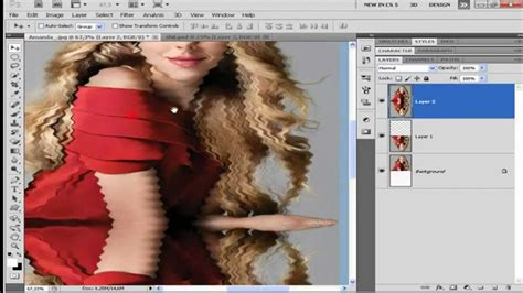 tutorial photoshop cs5 efeitos photoshop cs5 efeito de reflexo na 225 gua youtube