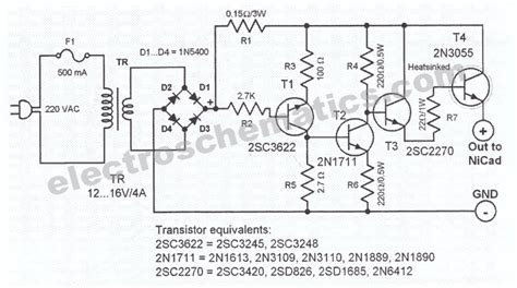 battery charger schematic untitled automatic battery charger schematic