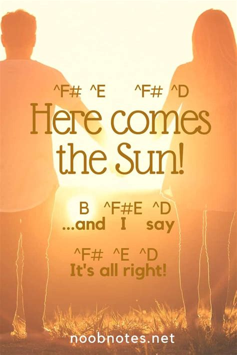 Here Comes The by Here Comes The Sun The Beatles Letter Notes For